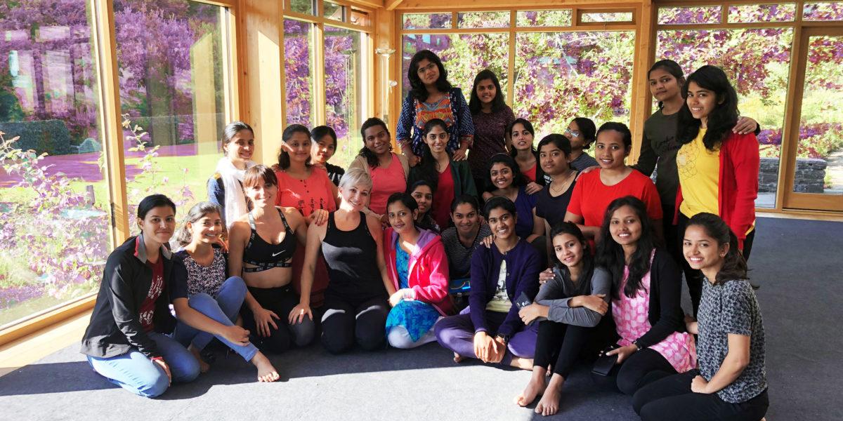 Yoga, Pilates, Indian ladies workshop
